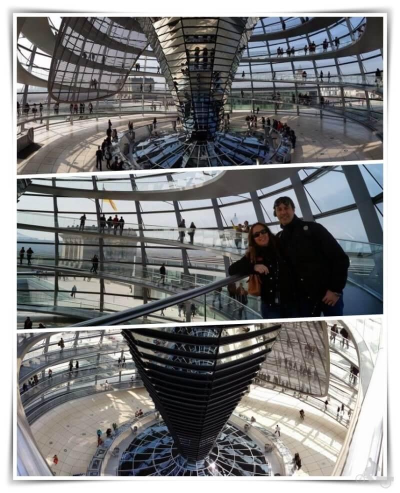 Cúpula del Bundestag - Berlín en 4 días