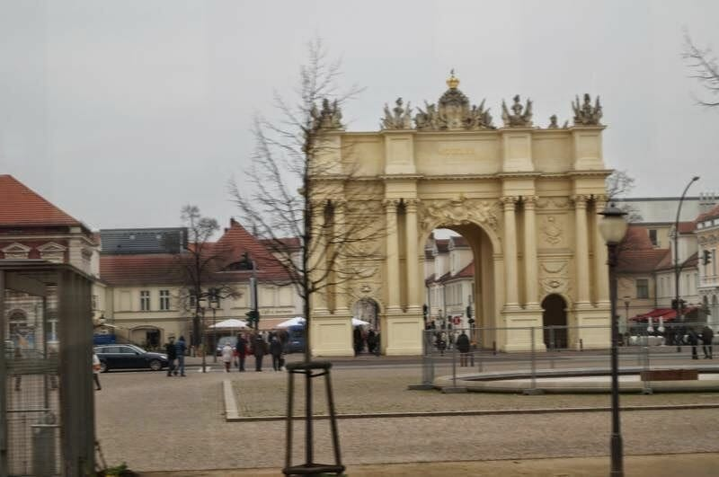 puerta de Brandenburgo de Potsdam