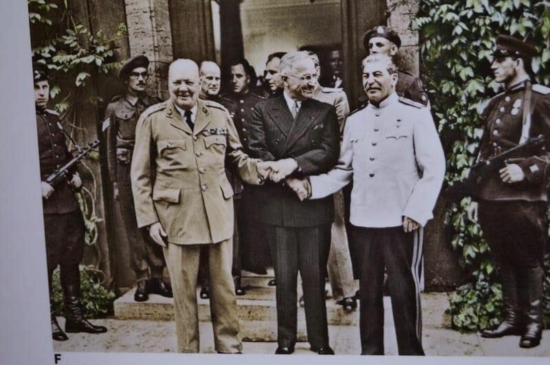 firmantes conferencia de Potsdam