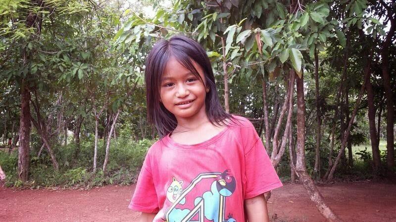 vendedora de piñas camboya