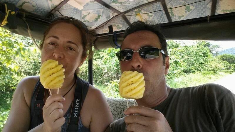 comer piñas camboya