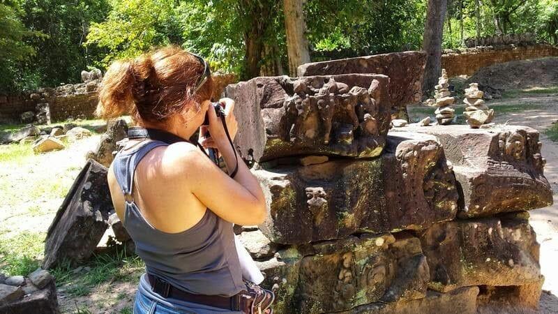TEMPLO TA SOM - circuito largo templos de Angkor