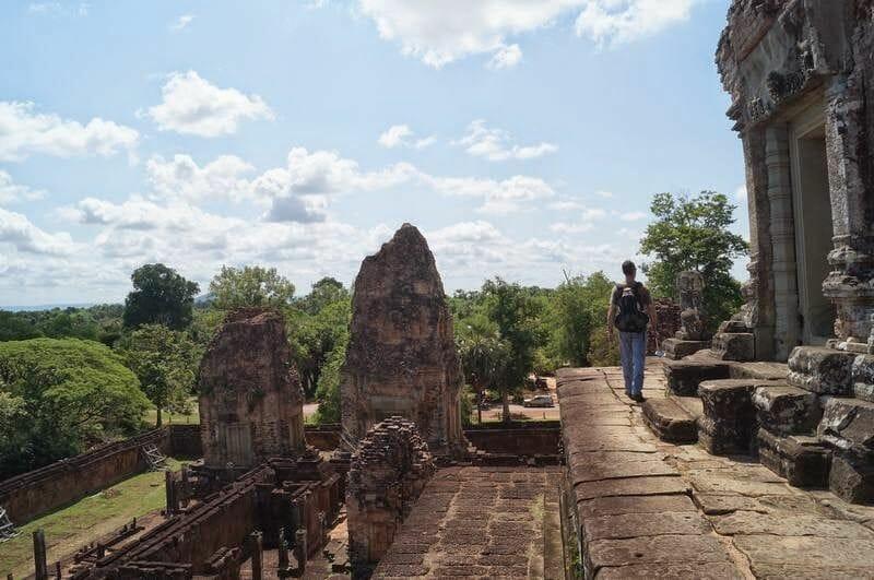TEMPLOS PRE RUP - circuito largo templos de Angkor