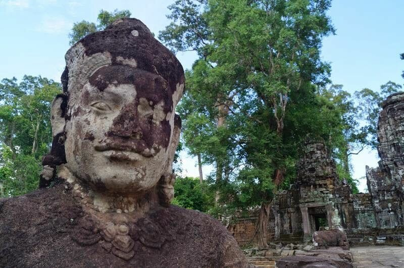 TEMPLO PREH KHAN - circuito largo templos de Angkor