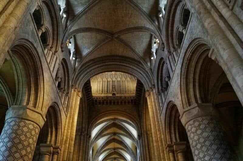 La bóveda de la catedral de Durham