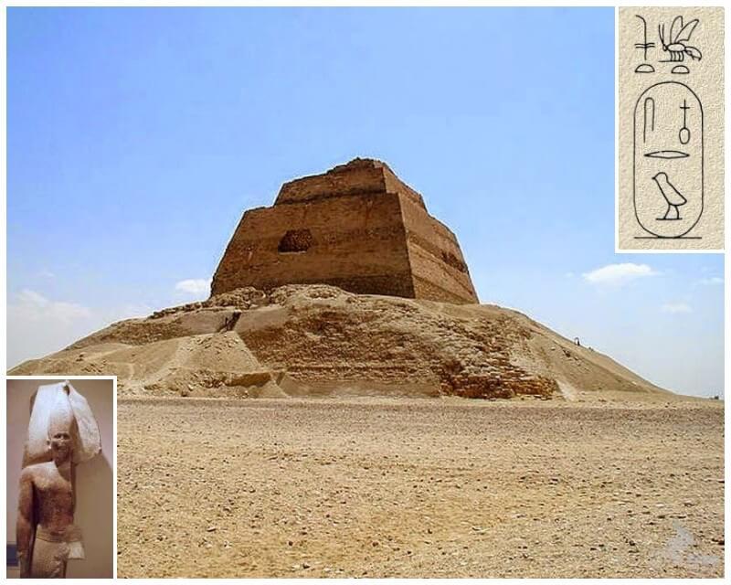piramide meydum egipto