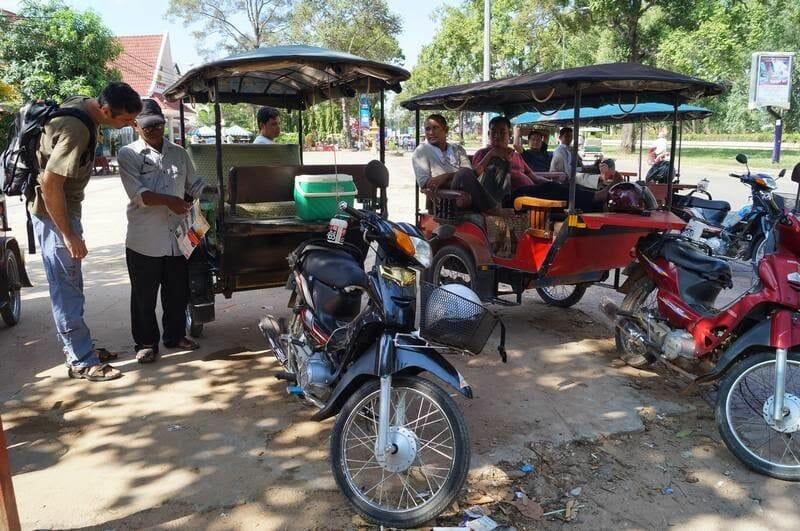 circuito largo de los templos de Angkor