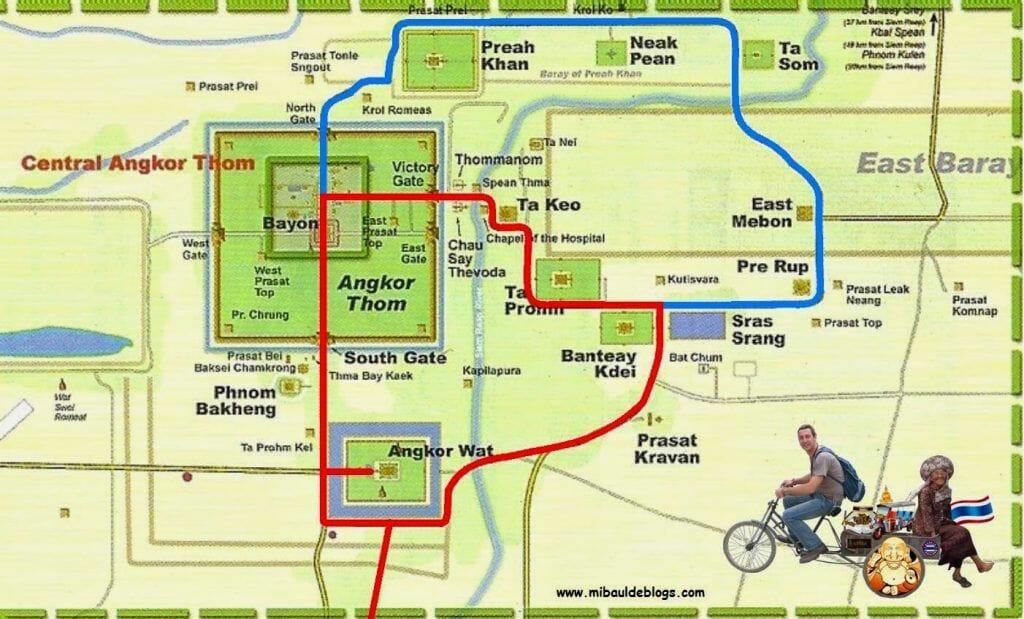 Circuitos templos de Angkor