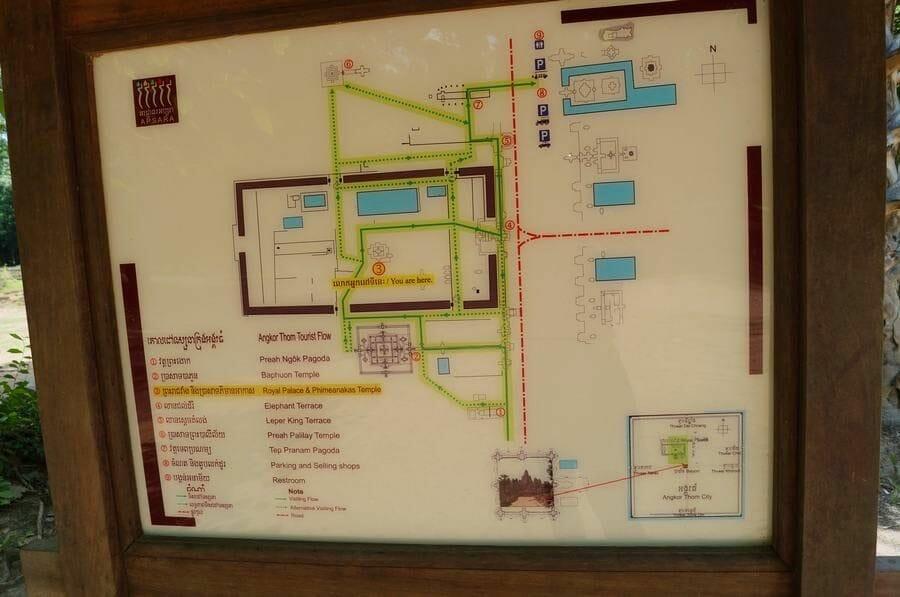 circuito corto templos de Angkor