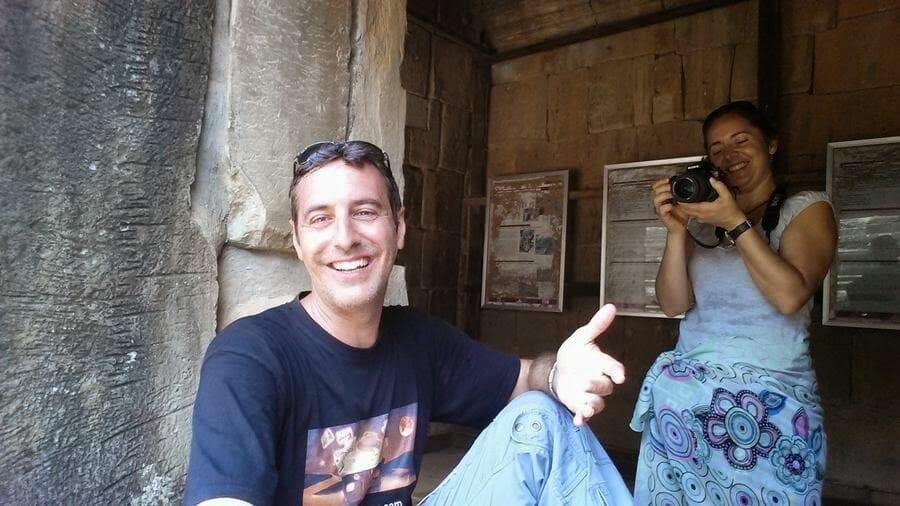 Mi baúl de blogs en el Templo Baphuon
