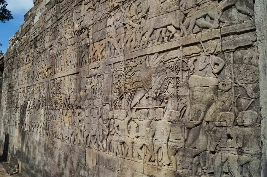 relieves Templo Bayon