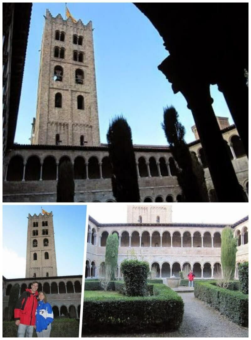 claustro monasterio ripoll