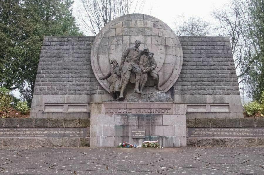 monumento conmemorativo de Maginot en Verdún