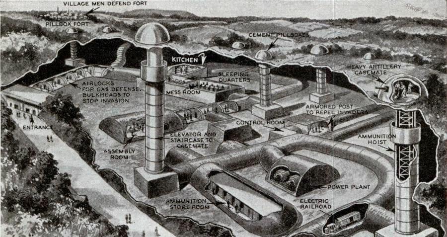 túneles subterráneos que posee Hackenberg