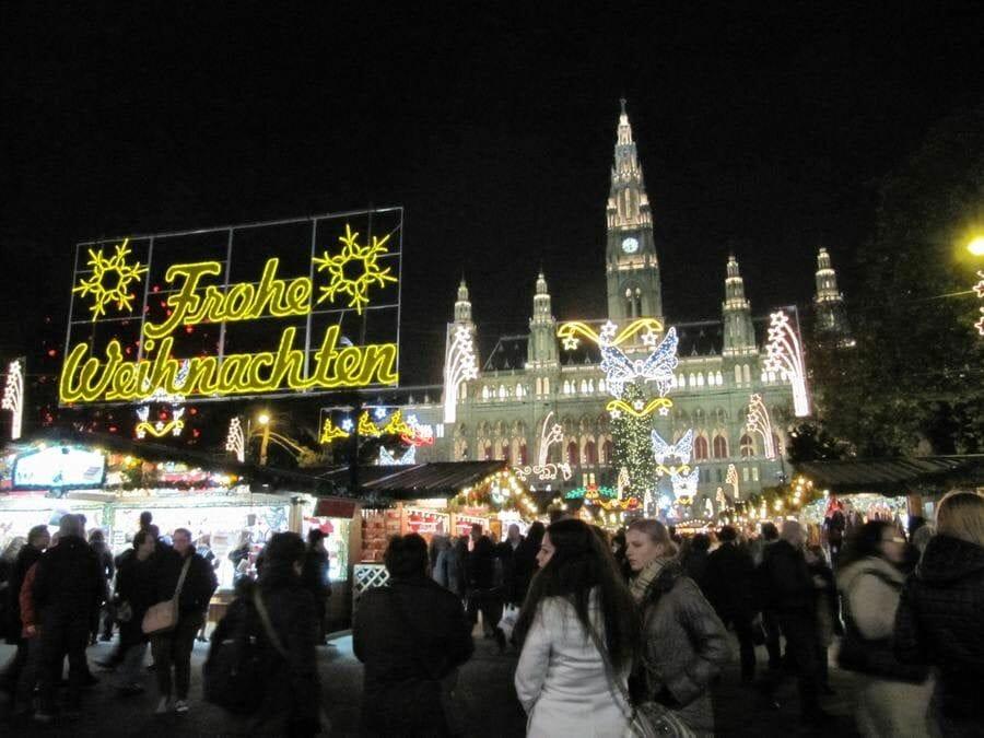 Christkindlmarkt Viena (Viena en Navidad)