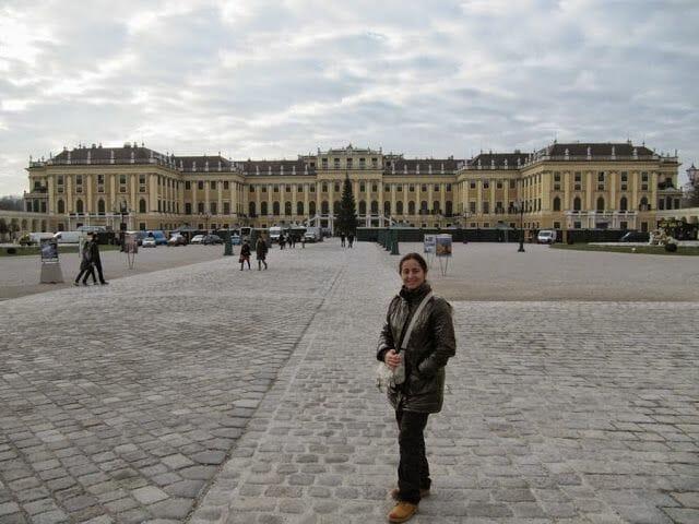 palacio de Schönbrunn (Viena en Navidad)