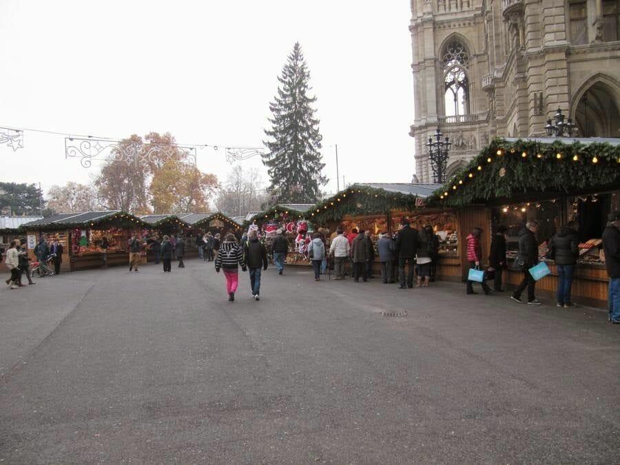 Christkindlmarkt Viena