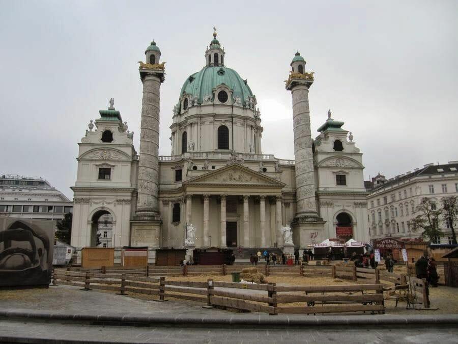 Mercado de Navidad Karlsplatz