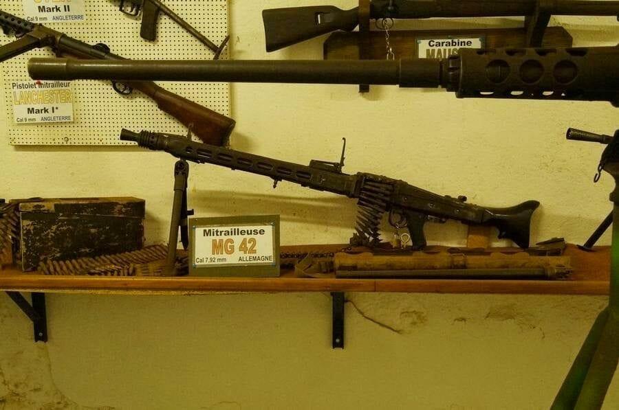 armas del museo fuerte hackemberg linea maginot