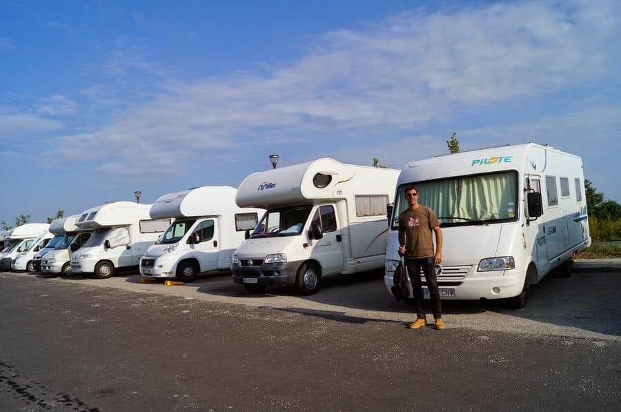 parking autocaravanas mont saint michel
