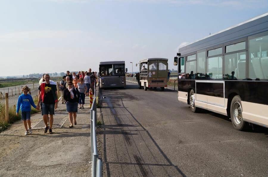 bus mont saint michelle