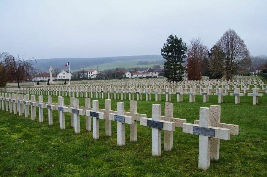 Ciudad de Verdún cementerio
