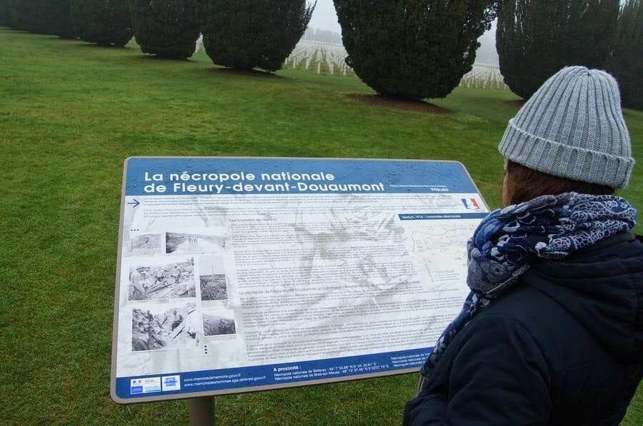 OSARIO DE DOUAUMONT cementerio