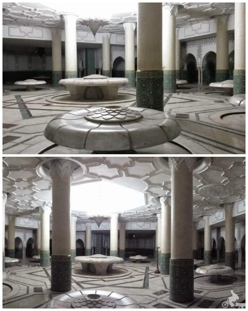 baños mezquita de Casablanca