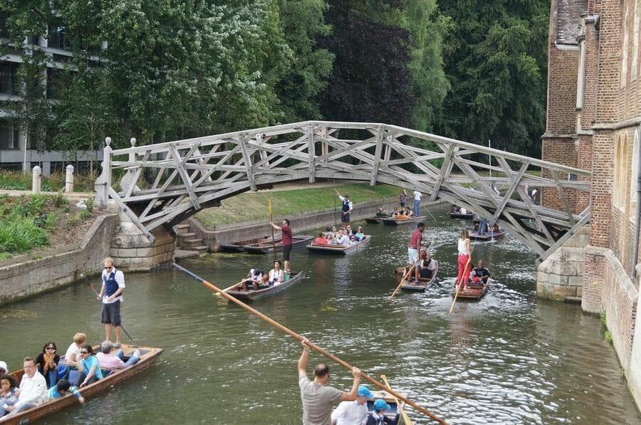 Puente de las Matemáticas - Qué ver en Cambridge