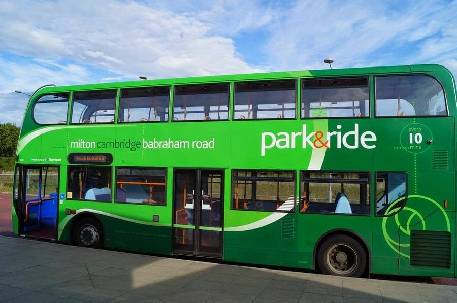 bus Park&ride Cambridge