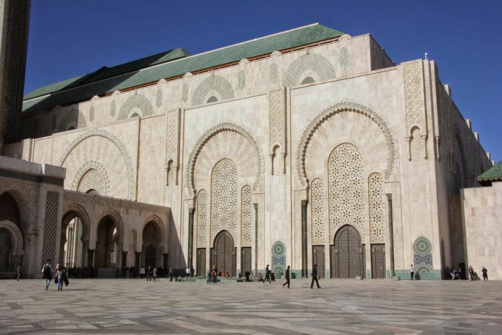 mezquita hassan II, Casablanc
