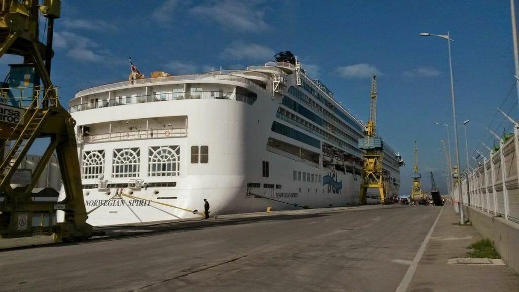 puerto de cruceros a Casablanca