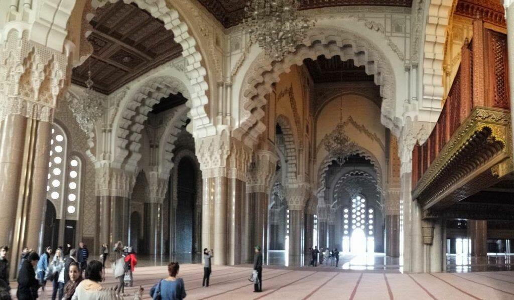 Visita de la mezquita de Hasan II