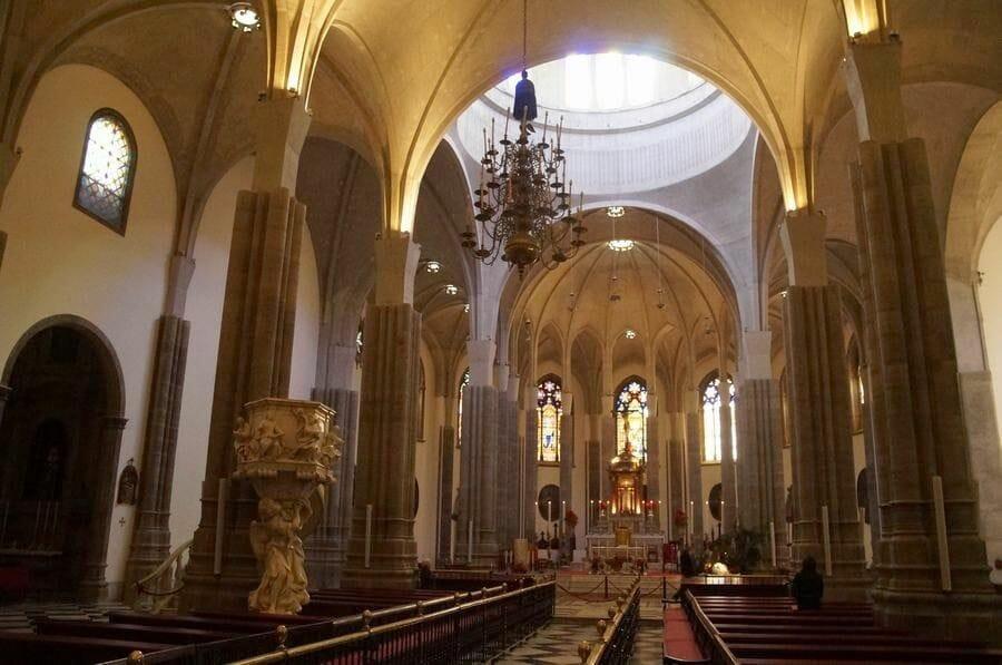 interior Catedral de Nuestra Señora de los Remedios