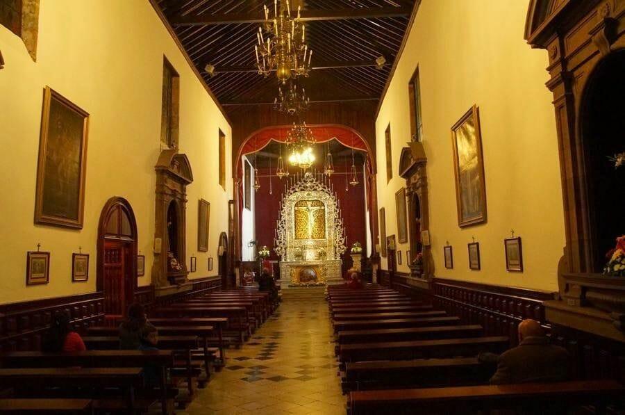 Iglesia del Cristo de la Laguna interior