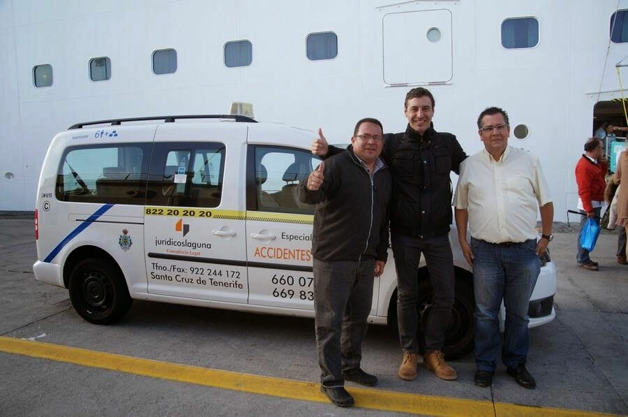 taxi puerto cruceros tenerife
