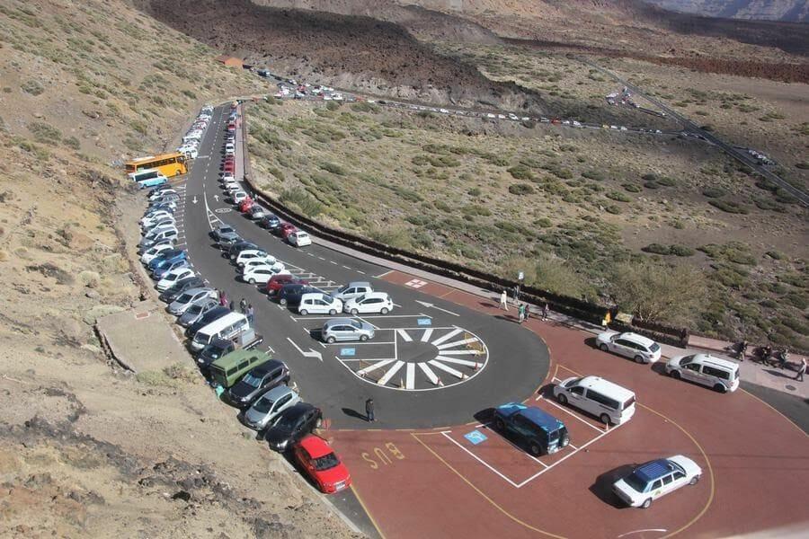 parking teide