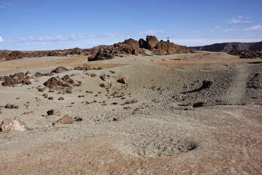 el Tabonal Negro o paisaje lunar