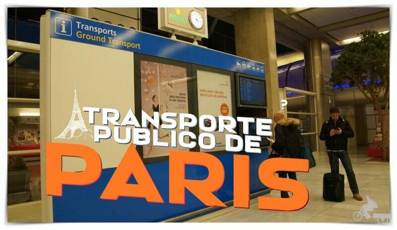 transporte público de París