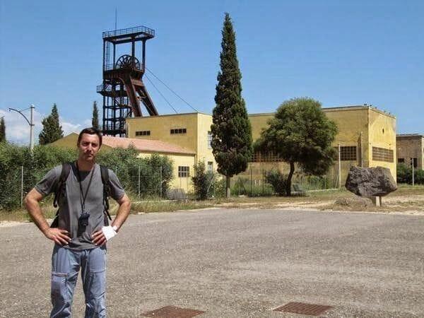 Carbonia y la gran mina de Serbariu