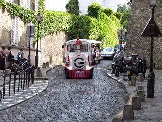 Petit train Montmatre