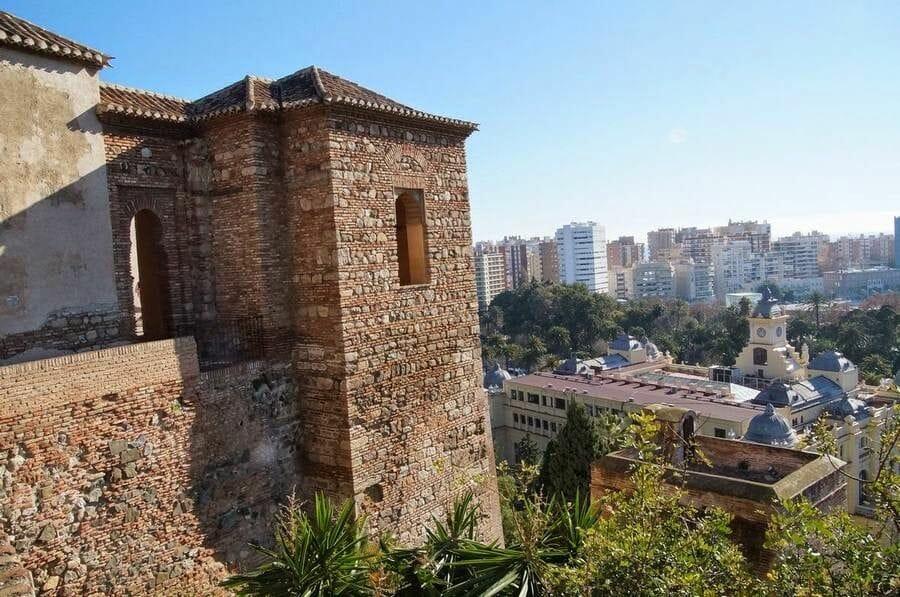 Alcazaba de Málaga vistas