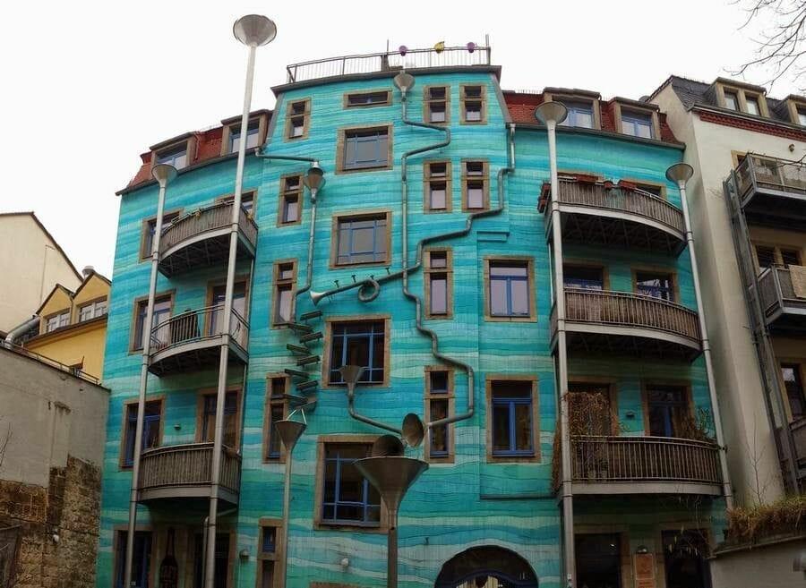 Las fachadas del Kunsthofpassage