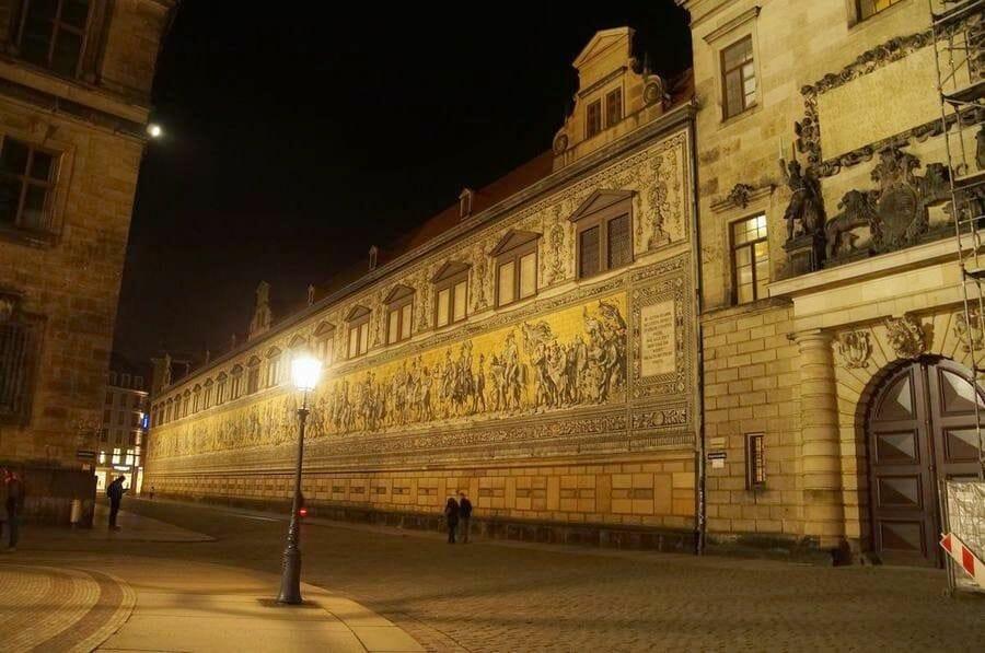 Fürstenzugb de noche