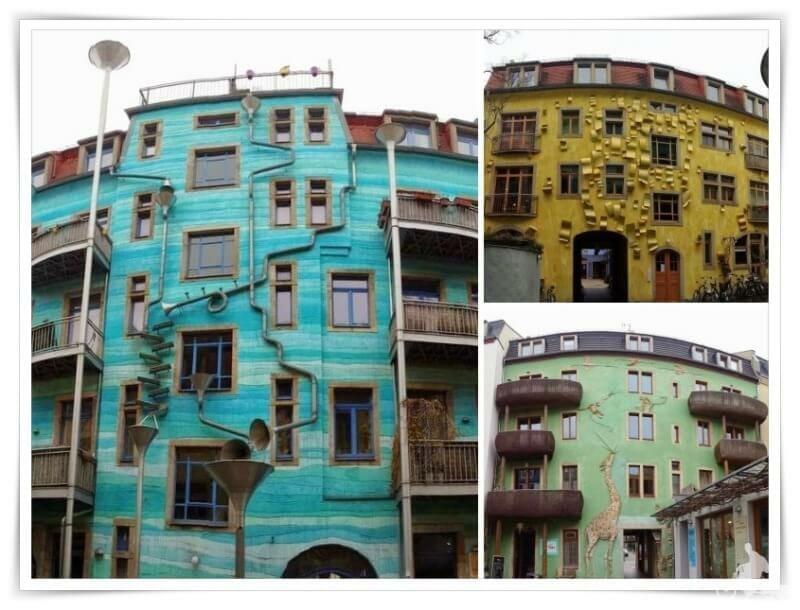 fachadas del Kunsthofpassage
