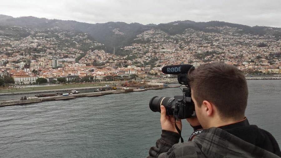 vistas de funchal desde puerto