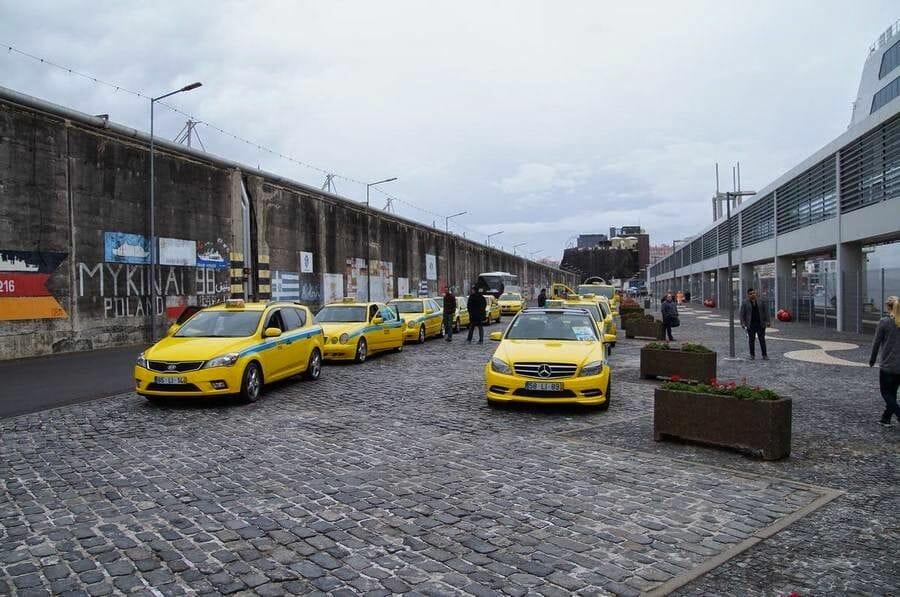 taxis del puerto a Funchal