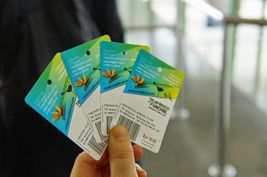 entradas Teleférico Funchal boletos