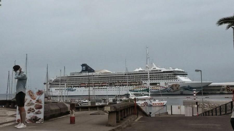 crucero funchal puerto