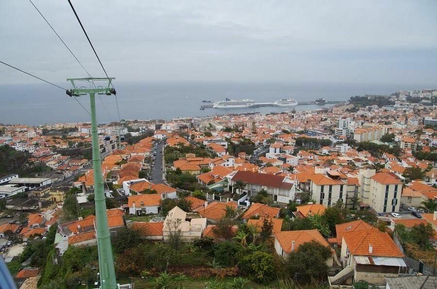 vistas Teleférico Funchal